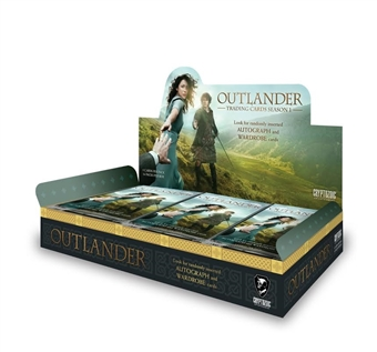 Outlander Season One Trading Cards Hobby Box (Cryptozoic 2015) (Presell)