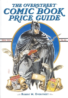 The Overstreet Comic Book Price Guide #44 (Batman Hardcover)