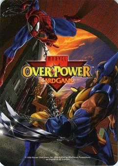 Marvel OverPower Card Game Lot of 80+ Hero 10+ Mission and 900+ Other Cards