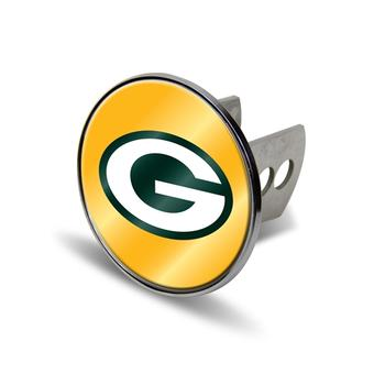 "Green Bay Packers Rico Industries 4 "" Laser Trailer Hitch Cover"