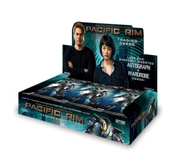 Pacific Rim Trading Cards Hobby 12-Box Case (Cryptozoic 2014)