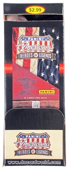 2012 Panini Americana Heroes & Legends Retail 36-Pack Box