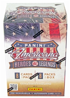 2012 Panini Americana Heroes & Legends 8-Pack Box