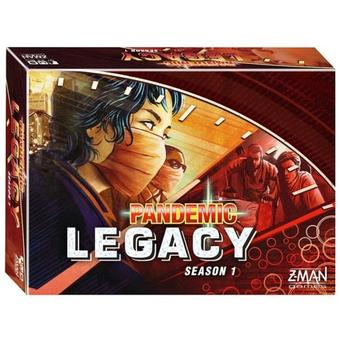 Pandemic: Legacy Season 1 - Red (Z-Man Games)