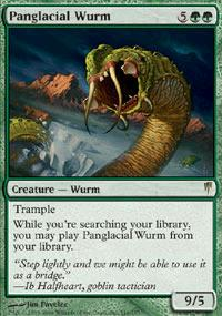 Magic the Gathering Coldsnap Single Panglacial Wurm - NEAR MINT (NM)