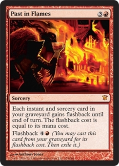 Magic the Gathering Innistrad Single Past in Flames Foil