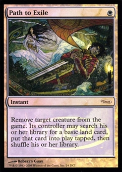 Magic the Gathering Promo Single Path to Exile FOIL (DCI)