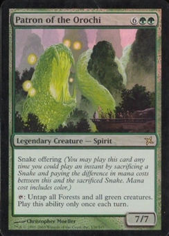 Magic the Gathering Betrayers of Kami Single Patron of the Orochi Foil