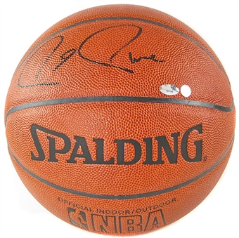 Paul Pierce Autographed Boston Celtics Indoor/Outdoor Basketball Steiner COA