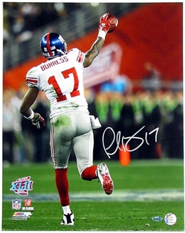 Plaxico Burress Autographed New York Giants 16x20 Photo (Steiner COA)