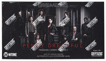 Penny Dreadful Season One Trading Cards Box (Cryptozoic 2015)