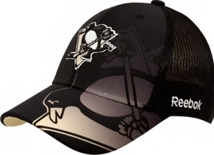 Pittsburgh Penguins Reebok Second Season Flex Fit Hat (Size L/XL)