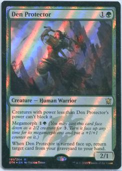 Magic the Gathering Dragons of Tarkir Prerelease Single Den Protector FOIL - NEAR MINT (NM)