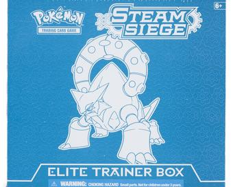 Pokemon XY Steam Siege Elite Trainer Box