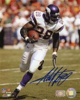 "Adrian Peterson Autographed Minnesota Vikings 8x10 Photo ""Run"""
