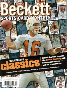 2015 Beckett Sports Card Monthly Price Guide (#366 September) (Peyton Manning)