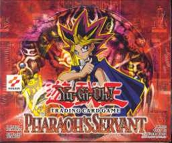 Upper Deck Yu-Gi-Oh Pharaoh's Servant 1st Edition Booster Box (36-Pack)