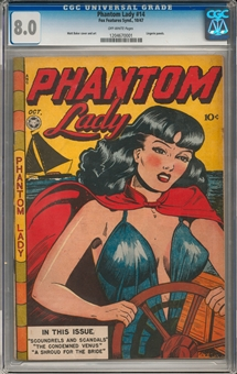 Phantom Lady #14 CGC 8.0 (OW) *1204670001*