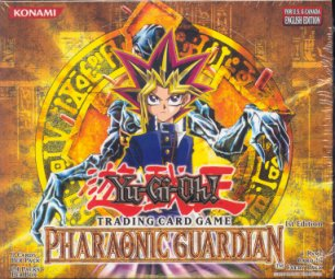 Upper Deck Yu-Gi-Oh Pharaonic Guardian 1st Edition Booster Box (24-Pack)