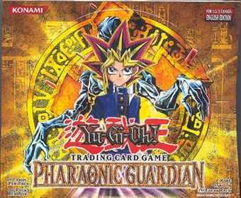 Upper Deck Yu-Gi-Oh Pharaonic Guardian Unlimited Booster Box (36-Pack)