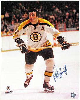 Phil Esposito Autographed Boston Bruins 16x20 Hockey Photo