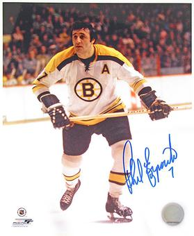 Phil Esposito Autographed Boston Bruins 8x10 Hockey Photo