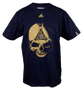 Philadelphia Union Adidas Navy Go To Skull Tee Shirt (Adult L)