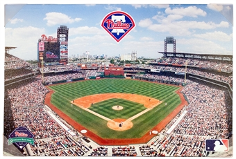 Philadelphia Phillies Citizens Bank Stadium 22x33 Artissimo