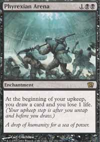 Magic the Gathering 8th Edition Single Phyrexian Arena Foil