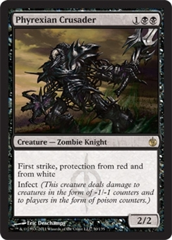 Magic the Gathering Mirrodin Besieged Single Phyrexian Crusader - NEAR MINT (NM)