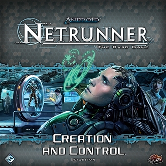 Android Netrunner LCG: Creation Control Deluxe Expansion (FFG)