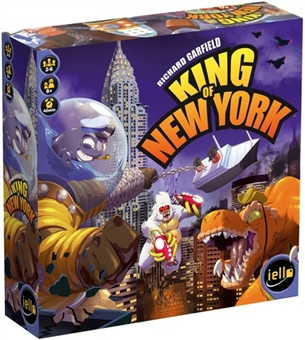 King of New York Board Game by Iello - Regular Price $49.95 !!!