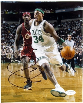 Paul Pierce Autographed Boston Celtics 8x10 Basketball Photo