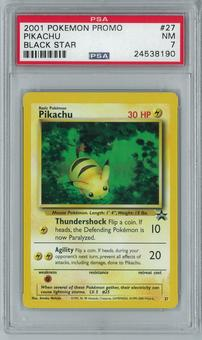 Pokemon Black Star Promo Pikachu 27 Rare PSA 7