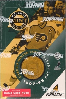 1997/98 Pinnacle Mint Collection Hockey 24 Pack Box