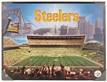 Pittsburgh Steelers 22x28 Heinz Field Stadium Artissimo