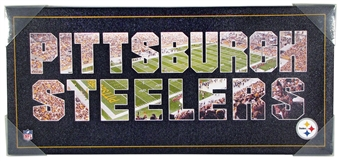 Pittsburgh Steelers Team Pride Artissimo 26x12 Canvas