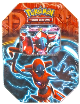 2013 Pokemon Team Plasma Fall EX Collector's Tin - Deoxys