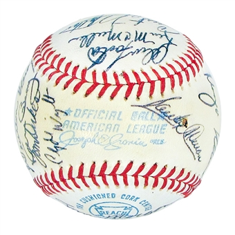 1972 California Angels Autographed Team Signed Baseball (JSA COA) 24 Signatures