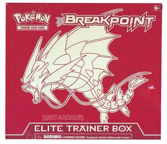 Pokemon XY BREAKpoint Elite Trainer Box