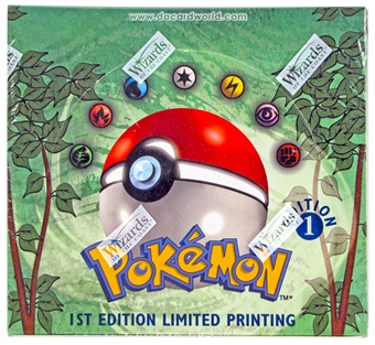 WOTC Pokemon Jungle 1st Edition Booster Box
