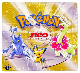 WOTC Pokemon Neo 1 Genesis 1st Edition Booster Box