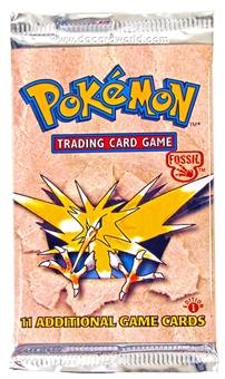 WOTC Pokemon Fossil 1st Edition Booster Pack