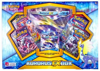 Pokemon Aurorus EX Box
