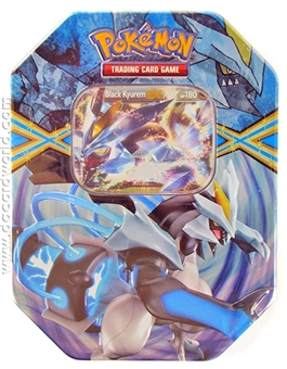 2013 Pokemon Legendary Spring EX Collector's Tin - Black Kyurem