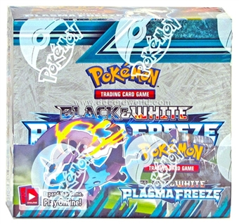 Pokemon Black & White 9: Plasma Freeze Booster Box