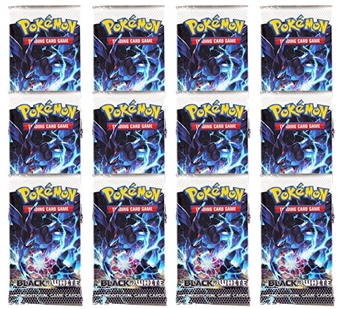 Pokemon Black & White Booster Pack (Lot of 12)