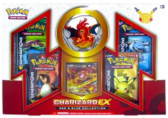 Pokemon Red & Blue Collection Box - Charizard EX