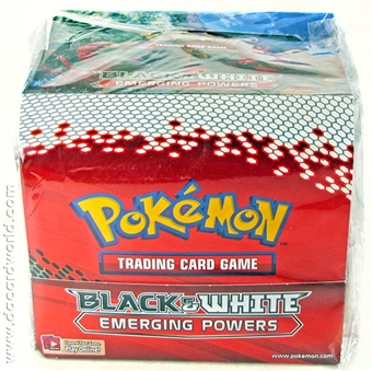 Pokemon Black & White 2: Emerging Powers Theme Deck Box (with torn shrink wrap)
