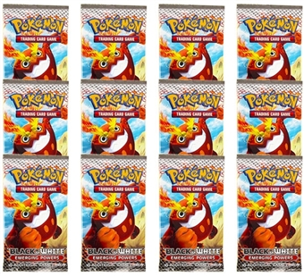 Pokemon Black & White 2: Emerging Powers Booster Pack (Lot of 12)